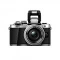 دوربین حرفه ای بدون آینه الیمپوس Olympus OM-D E-M10 با لنز 14-42 میلی متر نقره ای