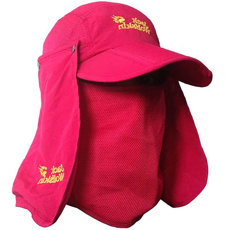کلاه نقابدار سه تکه ورزشی و کوهنوردی Jack WolfSkin (صورتی)