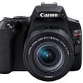 .دوربین جمع و جور کانن EOS Rebel SL3 - 250D معرفی شد!