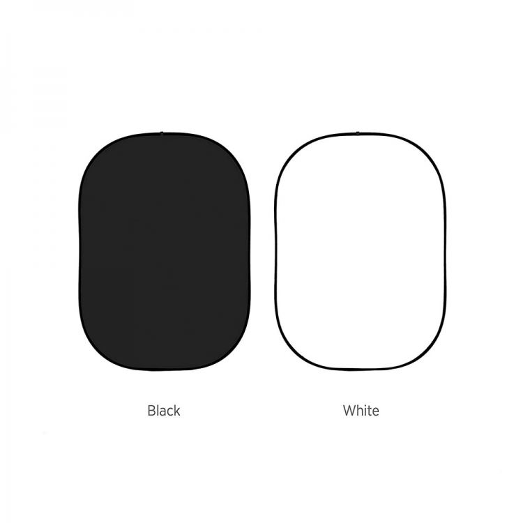خرید فون عکاسی پرتابل سفید/مشکی 1.5*1.85