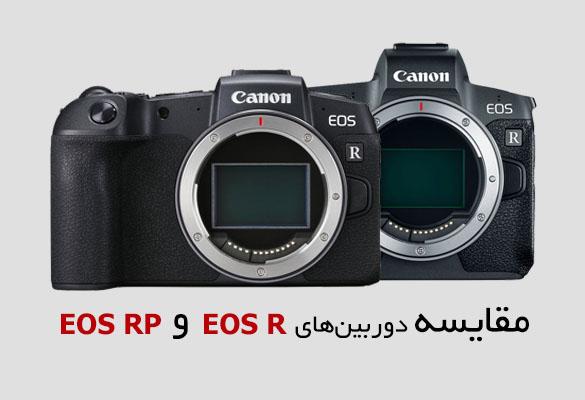 مقایسه دوربین EOS RP و EOS R