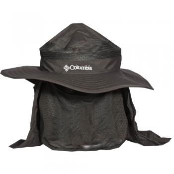 کلاه سه تکه توری دار ماهیگیری مدل کلمبیا (مشکی)