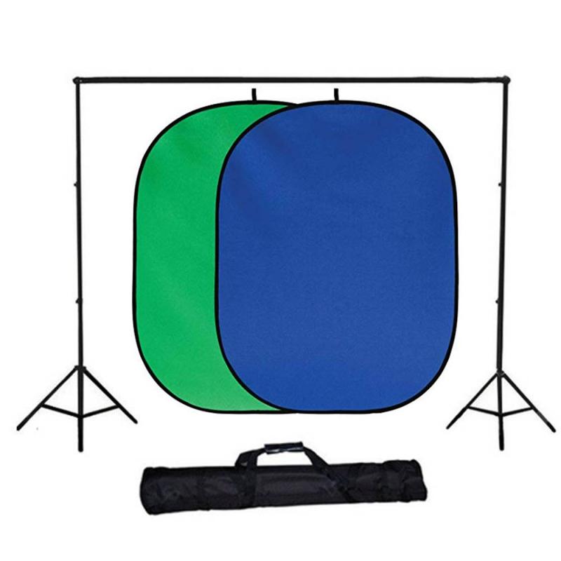 فون عکاسی پرتابل قرمز/آبی ۱٫۵ * ۱٫۸۵