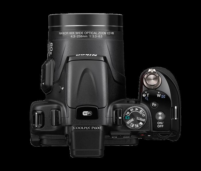 ابعاد دوربین نیکون b600