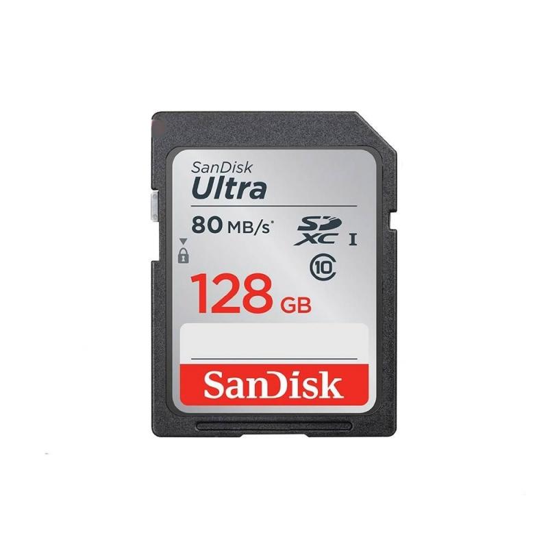کارت حافظه اس دی سندیسک 128 گیگابایت Ultra 533X 80MBps U1