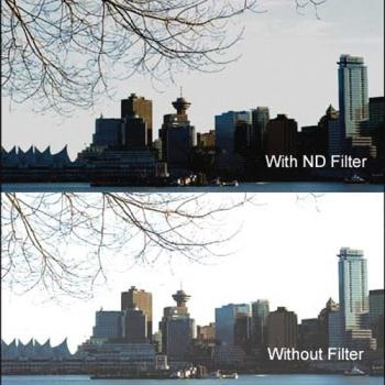 فیلتر لنز nd