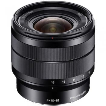 لنز سونی مدل Sony E 10-18 mm f/4 oss