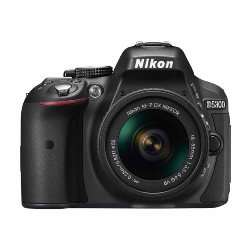 دوربین عکاسی نیکون Nikon D5300 با لنز ۵۵-۱۸ AF-P VR (کارکرده)