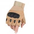 دستکش نیمه انگشت اوکلای مدل اصلی (رنگ کرم روشن)