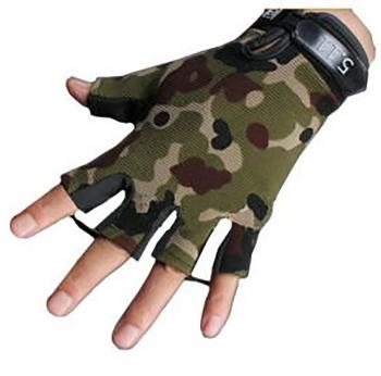 دستکش نیم انگشت کوهنوردی تاکتیکال
