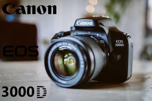 دوربین کانن 3000D