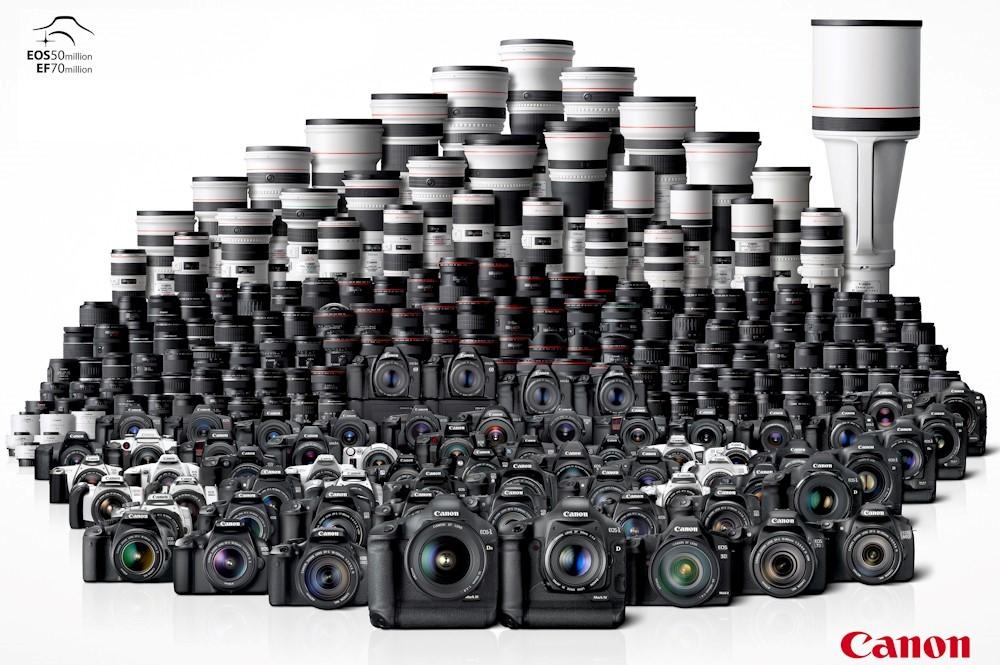 دوربین و لنز کانن