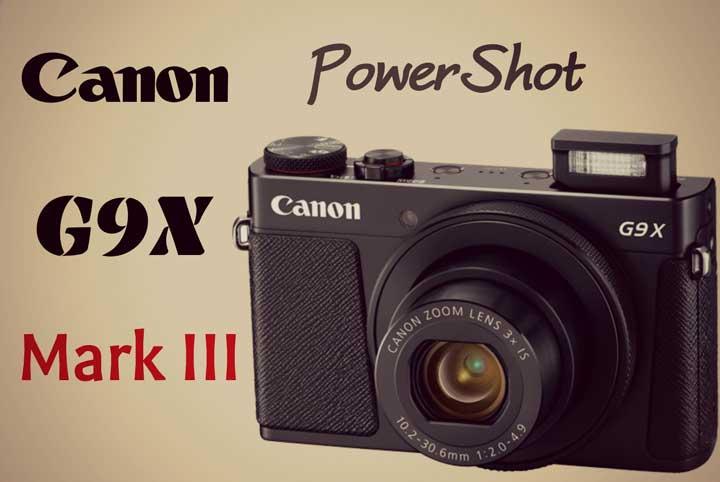 دوربین کامپکت G9x Mark III