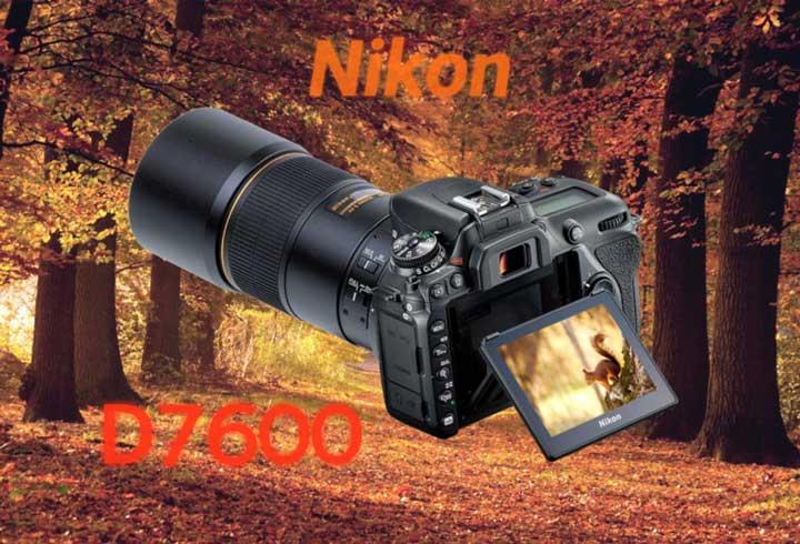 دوربین نیکون D7600