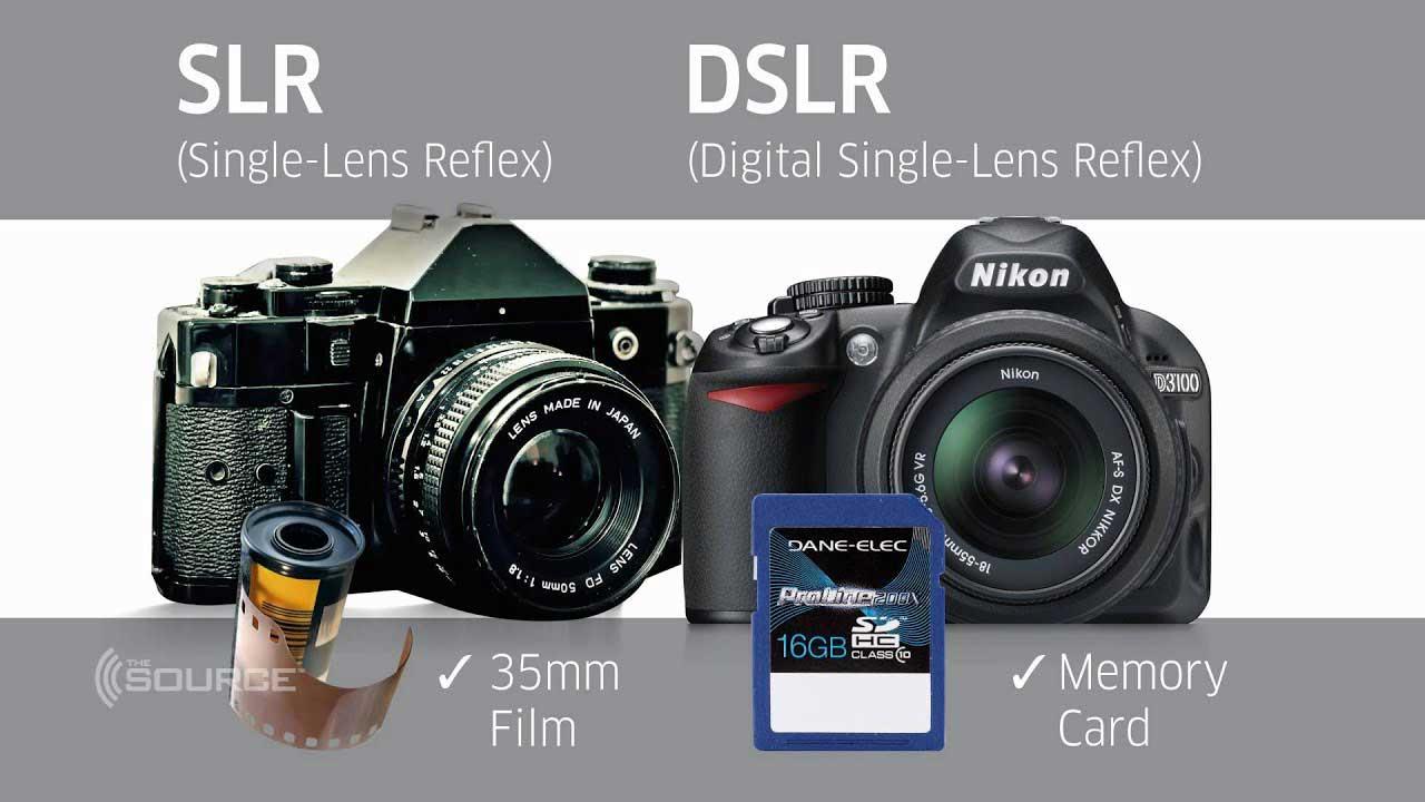 دوربین slr و dslr