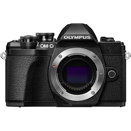 دوربین حرفه ای بدون آینه الیمپوس Olympus OM-D E-M10 مشکی بدنه