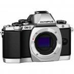دوربین حرفه ای بدون آینه الیمپوس Olympus OM-D E-M10 نقره ای بدنه