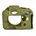محافظ و کاور سیلیکونی دوربین عکاسی نیکون D810 ارتشی