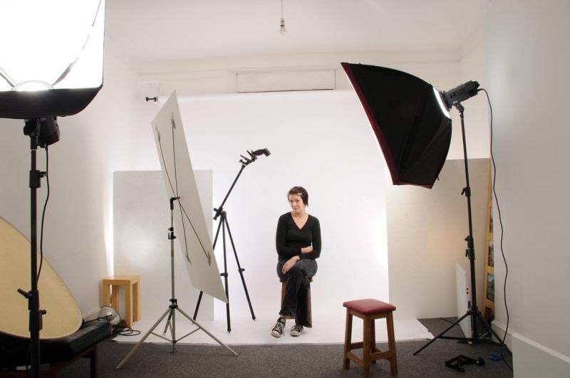 عکاسی پرتره در استودیو خانگی