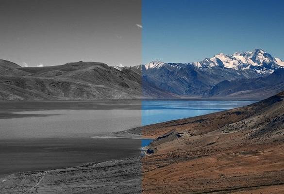 تبدیل عکس رنگی به سیاه و سفید