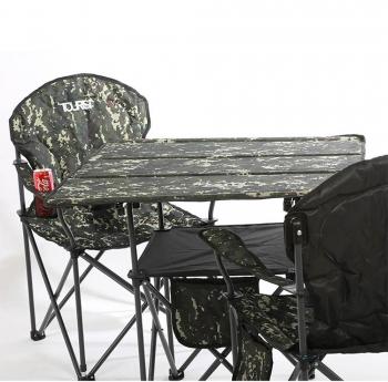 ست میز و صندلی تاشوی دو طبقه مسافرتی T