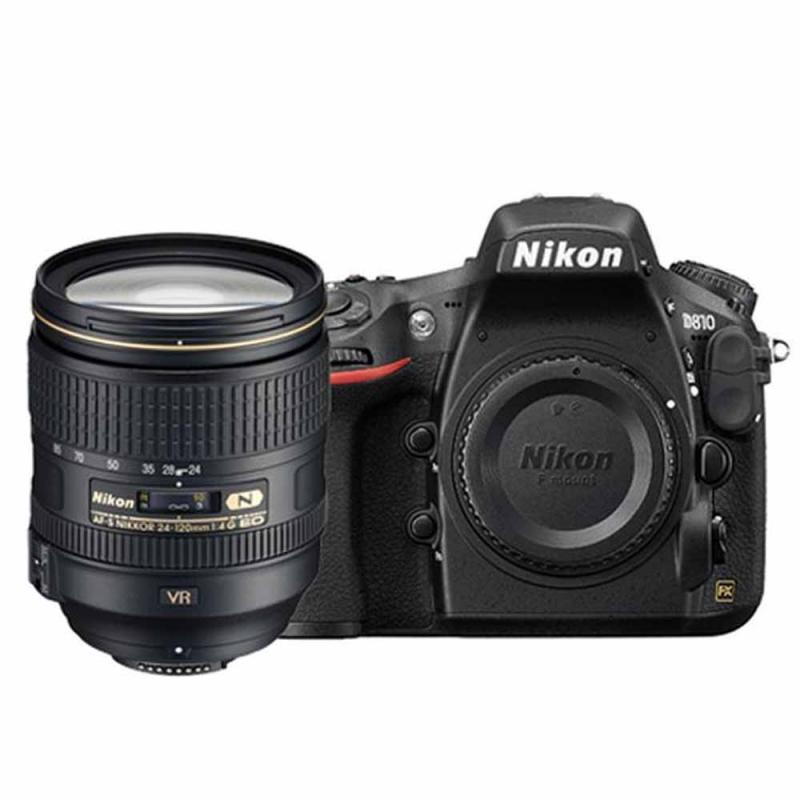 دوربین عکاسی نیکون Nikon D810 با لنز ۱۲۰-۲۴ VR (کارکرده)