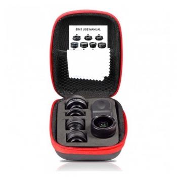 کیت لنز موبایل 8-in-1 Lens Kit ایبولو IBOOLO