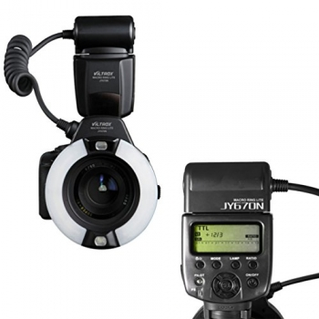 Viltrox JY-670N Camera LED TTL Macro Ring Flash-didnegar