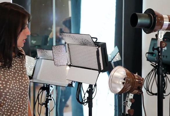 ویدیو معرفی تجهیزات نورپردازی