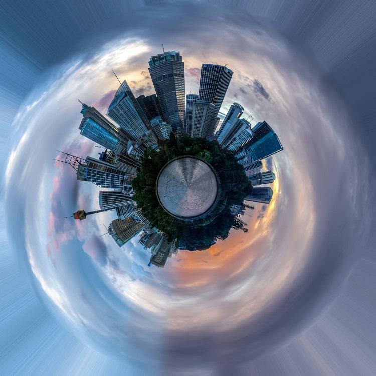 عکاسی شهری سیاره کوچک