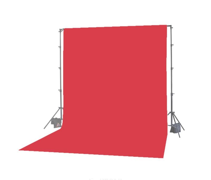 فون عکاسی (پرده عکاسی) قرمز ۳×۲ پارچه شطرنجی سوزنی