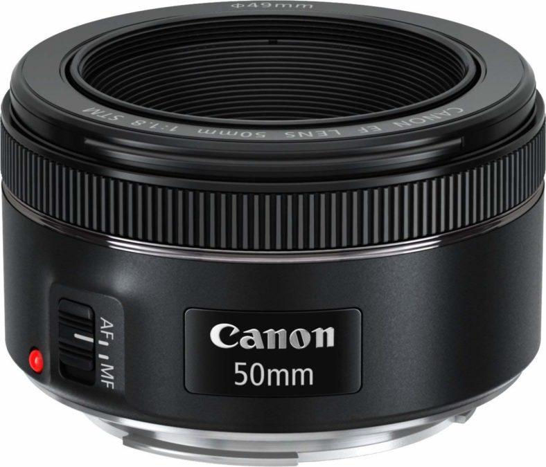کانن EF 50mm f/1.8 STM