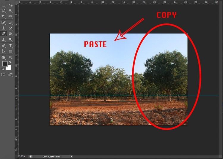 ترفند فتوشاپ برای عکسهای کروی