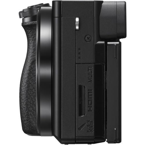 کانکتورهای دوربین سونی a6100