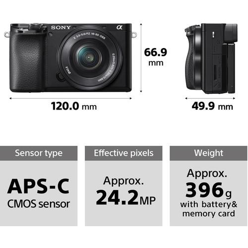 ابعاد دوربین سونی a6100