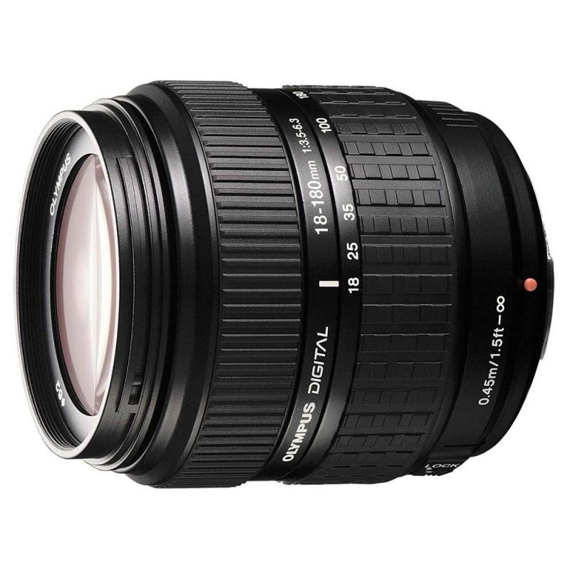 لنز دوربین الیمپوس ۱۸-۱۸۰ با دیافراگم ۳٫۵-۶٫۳