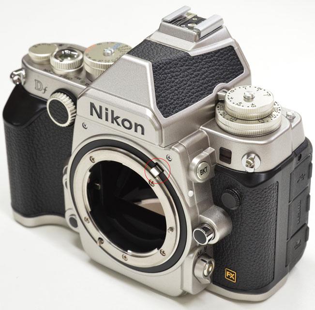 بدونه دوربین نیکون DF