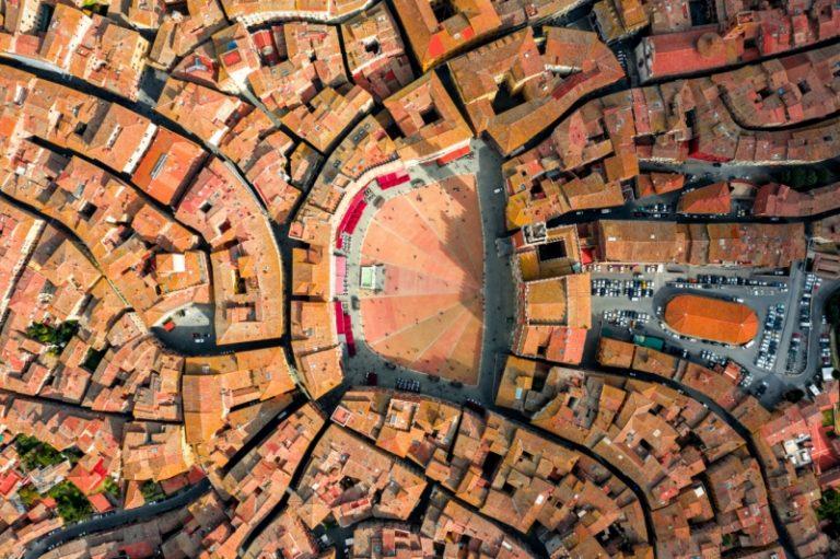 عکاسی هوایی شهری یکی از آثار برگزیده مسابقه عکاسی با پهباد 2019