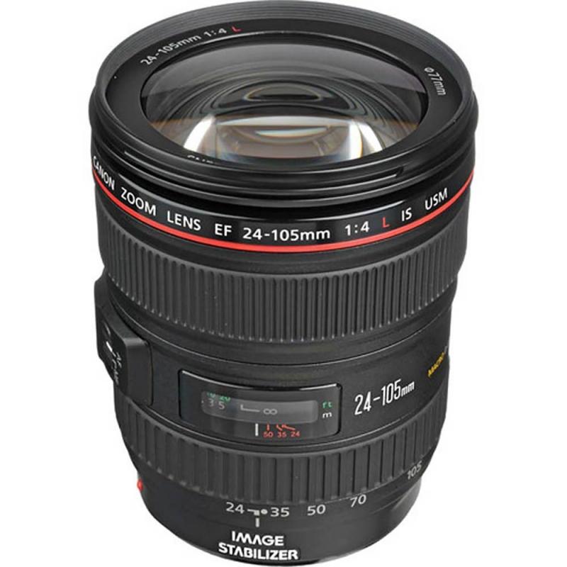 لنز کانن کارکرده) Canon EF 24-105mm f/4L )