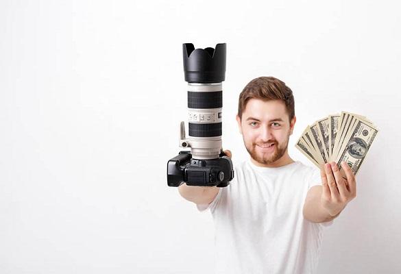کسب درآمد از عکاسی