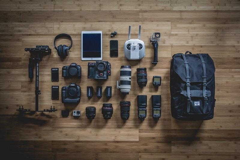 تجهیزات حرفهای عکاسی
