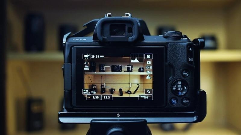 فوکوس خودکار در کانن M50