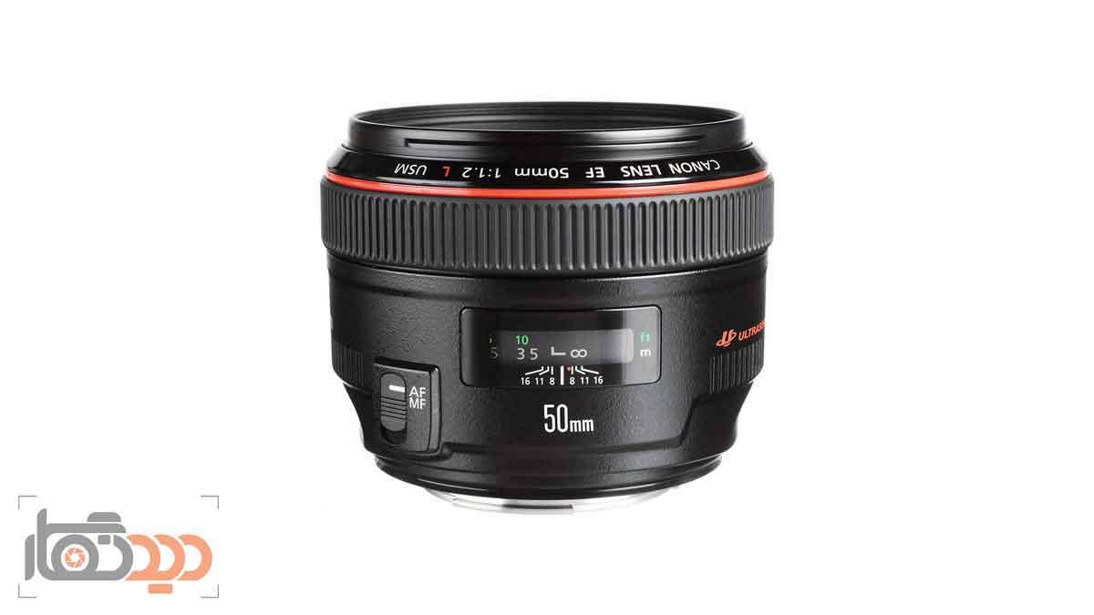 لنز کانن Canon EF 50mm f/1.2L USM
