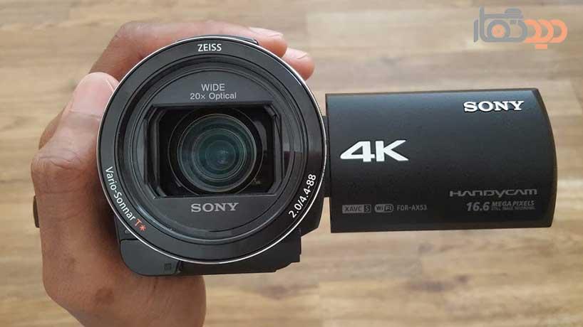 دوربینهای فیلمبرداری سونی با کیفیت 4k