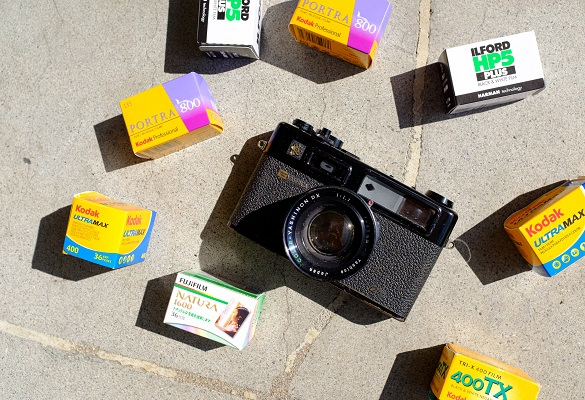 ۱۰ اشتباهی که در عکاسی با دوربینهای آنالوگ برای اولین بار رخ میدهد