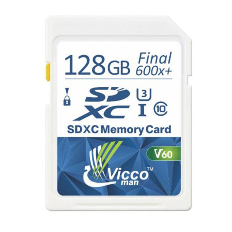 کارت حافظه SDHC ویکومن مدل Extra 600X کلاس ۱۰استاندارد UHS-I سرعت  ۹۰MB/S U3 4Kظرفیت ۱۲۸ گیگابایت