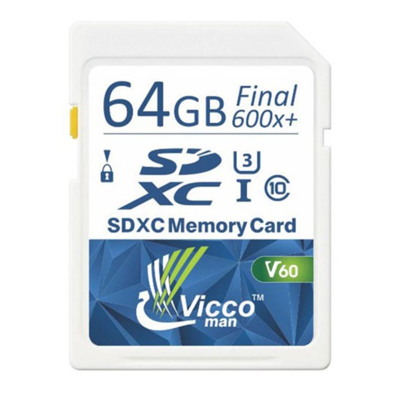 کارت حافظه SDHC ویکومن مدل Extra 600X کلاس ۱۰استاندارد UHS-I سرعت  ۹۰MB/S U3 4Kظرفیت ۶۴ گیگابایت